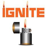 Ignite — Stock Vector