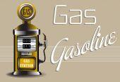 Gas pump — Stock Vector