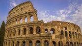 Coliseum, Flavian Amphitheatre in Rome — Stock Photo