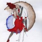 Постер, плакат: Tango dancing
