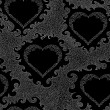 Abstract Valentines vector seamless pattern with ornamental hearts. Endless texture. You can use it as a Valentine's day background — Stock Vector #66222269