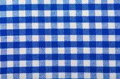 Cotton fabric texture blue — Stock Photo