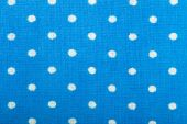 Blue cotton fabric texture — Stock Photo