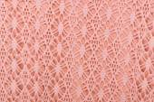 Cotton fabric with  lace — Stock Photo