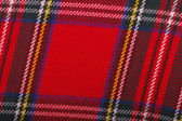 Red wool fabric texture — Stock Photo