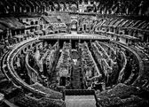 The Arena Floor - Colosseum - Rome, Italy — Stock Photo