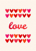 Happy Valentine Day card — Vector de stock