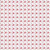 φόντο με κόκκινες καρδιές. — Διανυσματικό Αρχείο