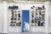 Shoes shop — Stock Photo