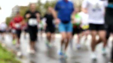 Germany oldest city marathon — Stock Video