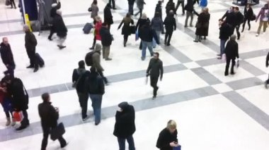 Liverpool street station — Stock Video