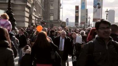 South Bankin London — Stock Video