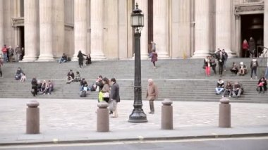 St. Pauls cathedral — Stock Video