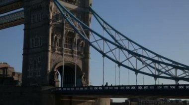 Tower Bridge in London — Stock Video