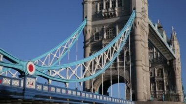 Details of Tower Hill Bridge — Stock Video