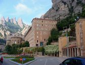 Montserrat monastery, Catalonia, Spain — Stock Photo