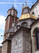 Catedral Capilla Zygmuntowska en Wawel en Cracovia, Polonia — Foto de Stock