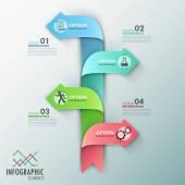 Moderna infographics alternativ banner — Stockvektor