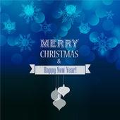 抽象的圣诞灯背景 — 图库矢量图片