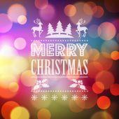 Christmas light vector background. — Stock Vector