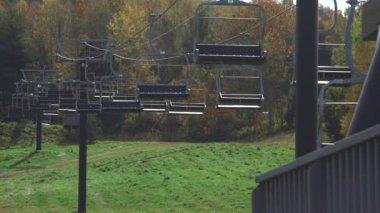 Mohawk Mountain kayak asansörleri — Stok video