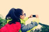 Photographer taking photo at tibet — Stockfoto