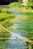 Jiuzhaigou national park — Stock Photo