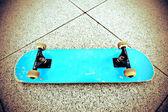 Skateboard på skatepark — Stockfoto