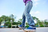 滑板滑板 — 图库照片