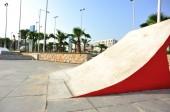 Modern skatepark ramps — Stock Photo