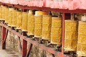 Tibetské modlitební mlýnky — Stock fotografie
