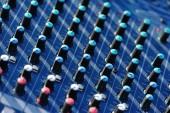 Modern audio mixer — Stockfoto