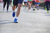 フィットネスに出場するマラソン選手 — ストック写真