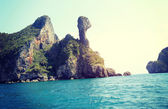 Thailand Island in sea — Stock Photo