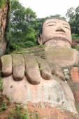 Velká socha buddhy — Stock fotografie
