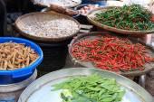 Maekong railway station market — Stock Photo