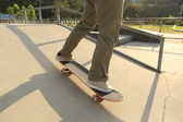 スケート ボード スケート ボード脚 — ストック写真