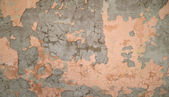 Texture of old wall covered with brown stucco — Zdjęcie stockowe