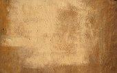 Textury staré zdi pokryté žlutým štuk — Stock fotografie