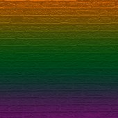 Color brick wall with gradient — Stock Photo