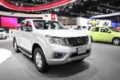 Bangkok - 28 novembre: Auto Nissan Np300 Navara in esposizione presso il — Foto Stock