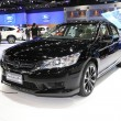 Постер, плакат: BANGKOK November 28: Honda Accord Hybrid car on display at The