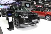 BANGKOK - November 28: Range Rover car on display at The Motor E — Stock Photo