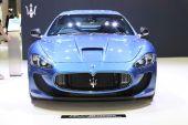 BANGKOK - November 28: Image zoom of Maserati car on display at  — Stockfoto