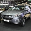 Постер, плакат: BANGKOK November 28: Hyundai Tucson car on display at The Moto
