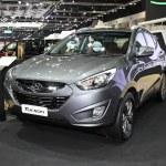 ������, ������: BANGKOK November 28: Hyundai Tucson car on display at The Moto