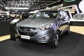 BANGKOK - November 28: Hyundai Tucson car on display at The Moto — Stock Photo