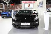 BANGKOK - MARCH 24: Porsche Panamera Hybrid  car on display at T — Stock Photo