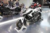 BANGKOK - MARCH 24: Honda NC 750  motorcycle on display at The 3 — Stock Photo