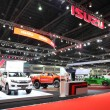 Постер, плакат: BANGKOK MARCH 25: Showroom of Isuzu car at The 36 th Bangkok